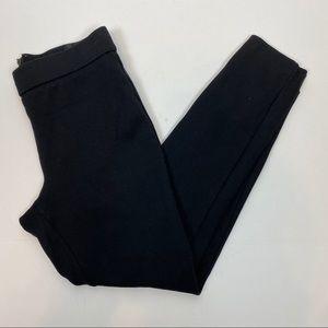 J.Crew S Small Pixie Pants Black Skinny Leg